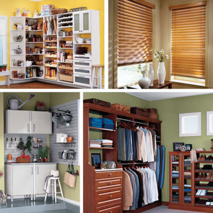 Closet Classics U0026 Blinds Custom Home Organization And Window Coverings